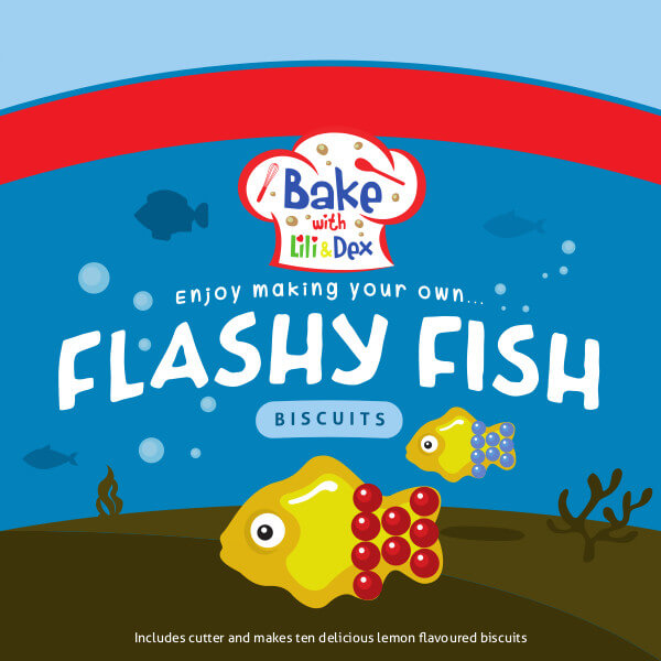Flashy Fish Biscuits