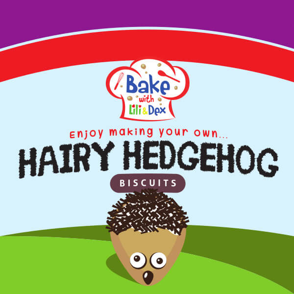 Hairy Hedgehog Biscuits
