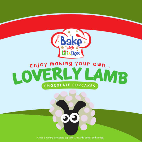 Loverly Lamb Cupcakes