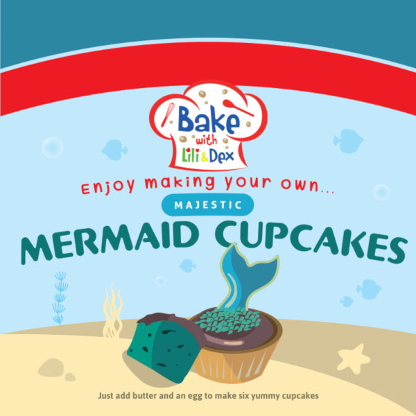 Majestic Mermaid Cupcakes