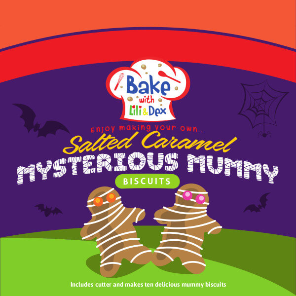 Mysterious Mummy Biscuits