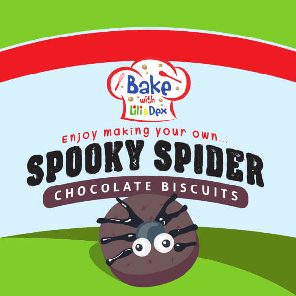 Spooky Spider Biscuits