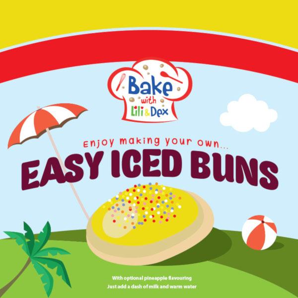 Summer Iced Buns
