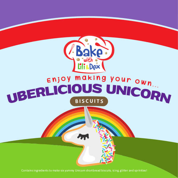 Uberlicious Unicorn Biscuits
